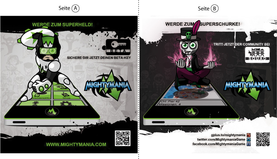 Our flyer for the Gamescom 2013