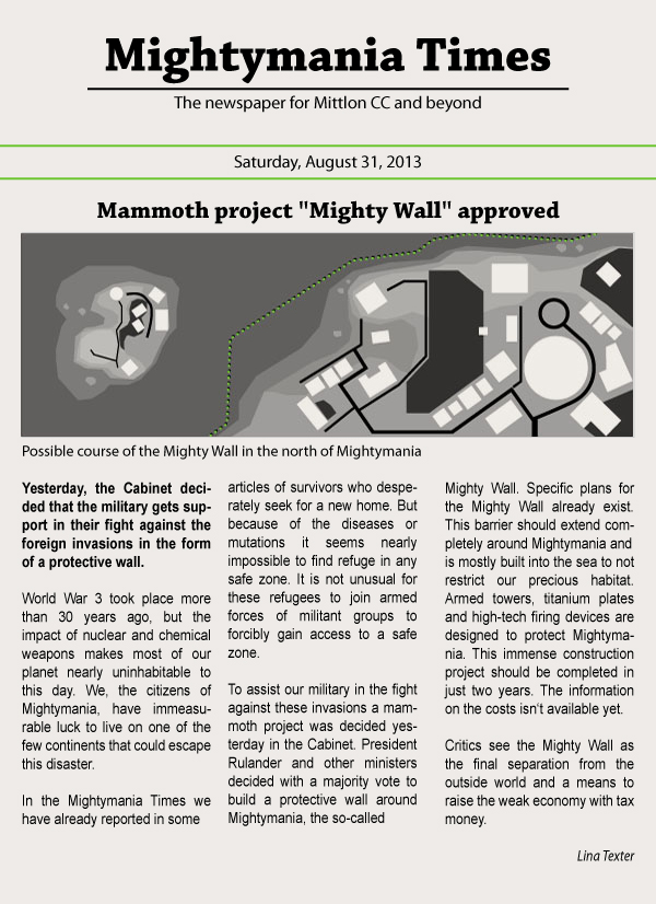 """Mammoth project """"Mighty Wall"""" approved"""
