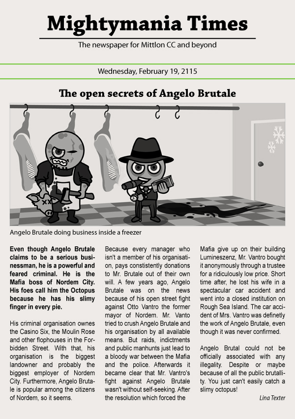 The open secrets of Angelo Brutale